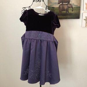 Rare Editions purple dress size 6X